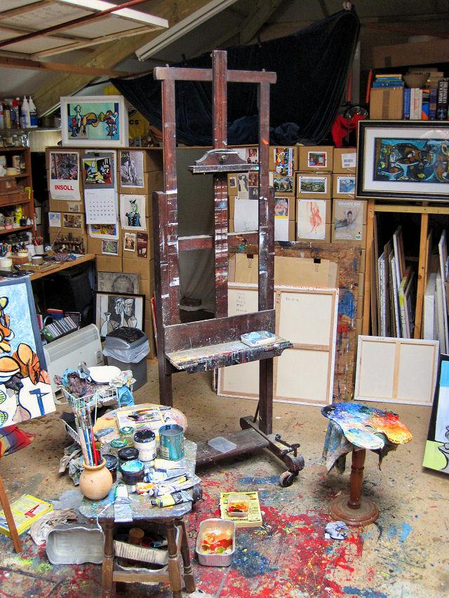 Rosevine studio empty easil